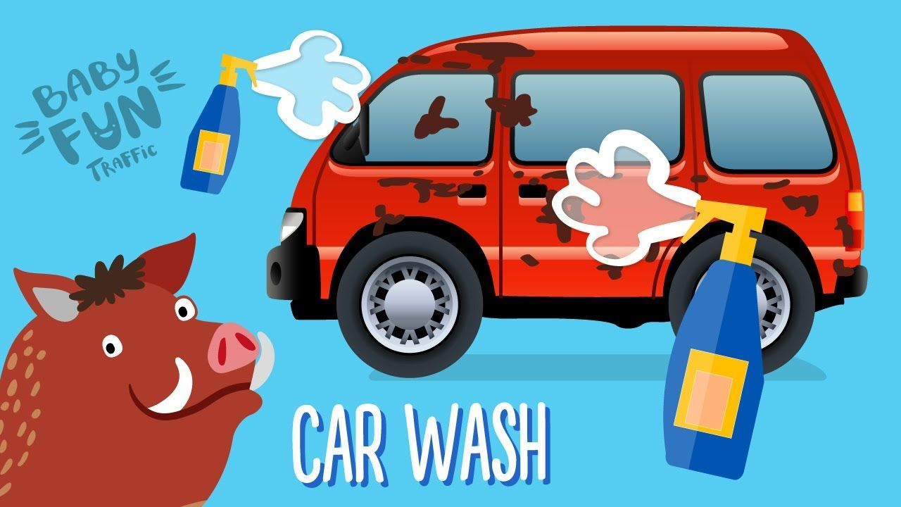 here is our new car wash video for kids watch and subscribe