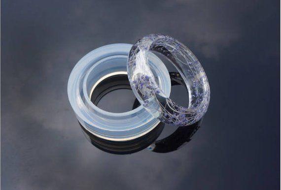clear Bangle Silicone Mold - Flexible Resin Mold - Bracelet