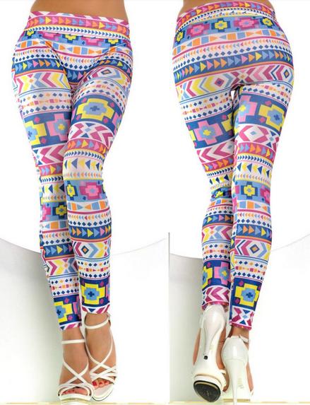 Women's Trendy Pattern Design Leggings