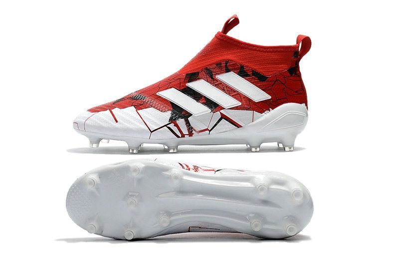adidas Ace17 Purecontrol FG Chaussures 2017 Homme Rouge Blanc ...