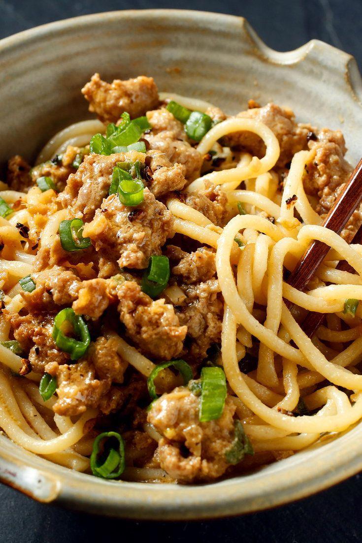 Szechuan Noodles with Pork picture