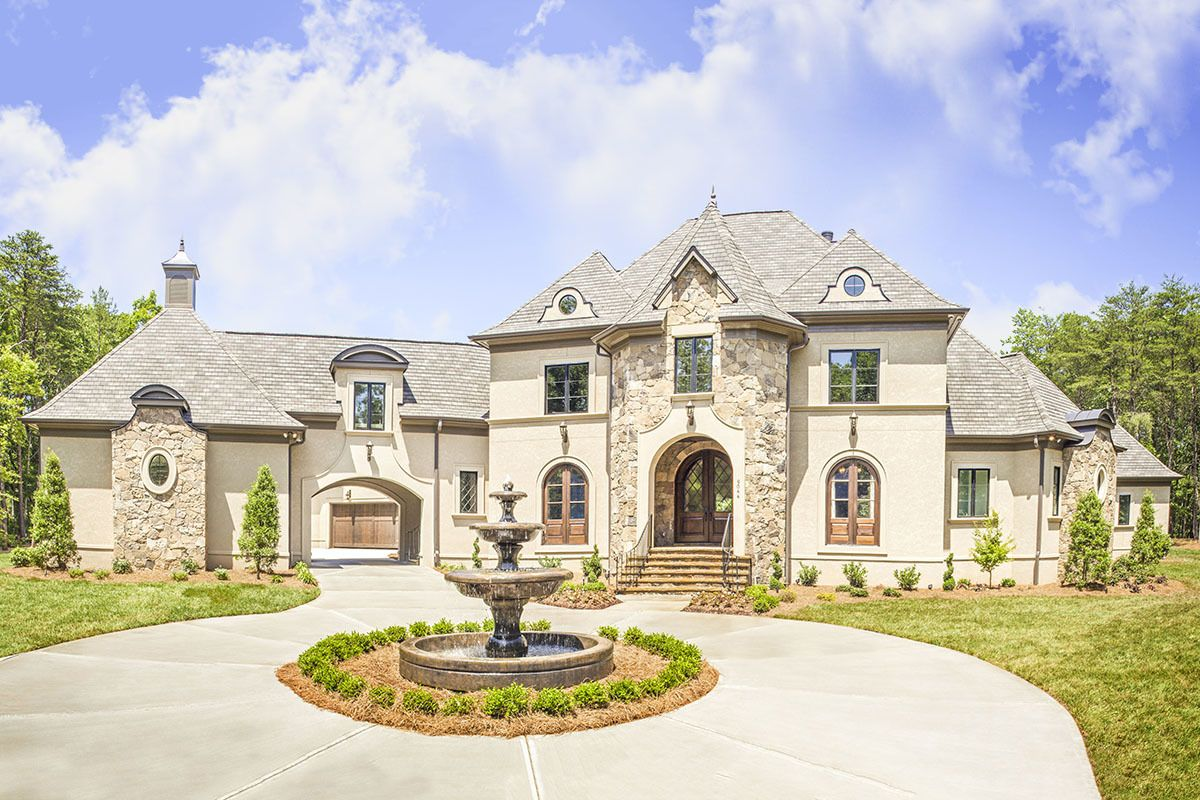 Plan 500000vv Stunning European House Plan Loaded With Special Details Luxury House Plans European House Exterior Brick