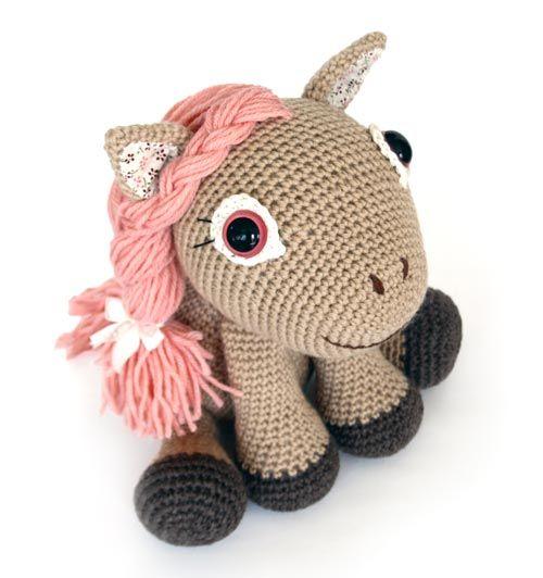 Leila the Pony amigurumi pattern by lilleliis | Kuscheltiere häkeln ...
