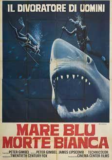 Posteritati: BLUE WATER, WHITE DEATH 1971 Italian 55x79