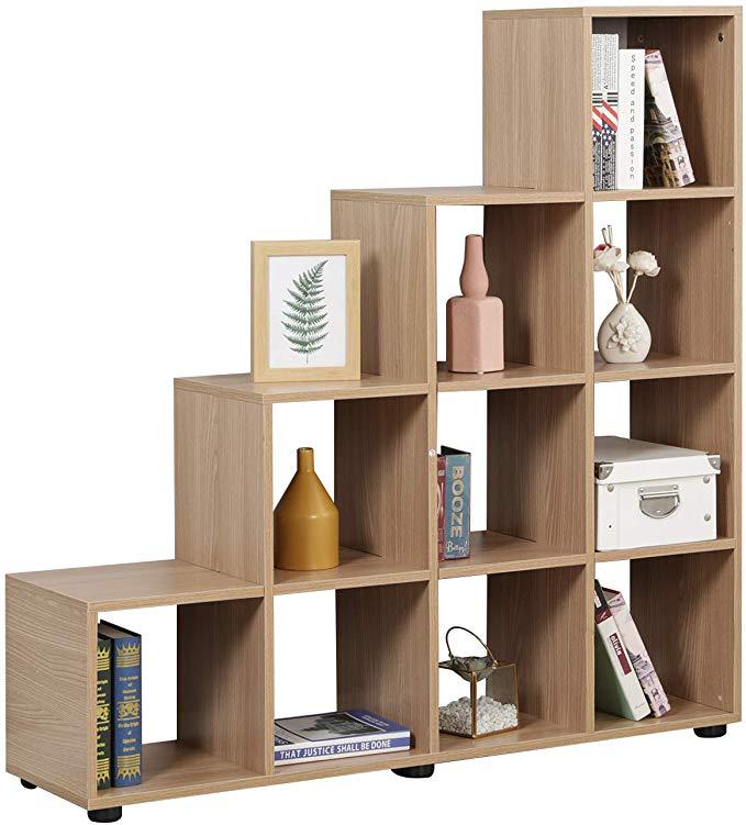 Amazon Com Soges Bookshelf 10 Cube Cabinet Storage Organizer