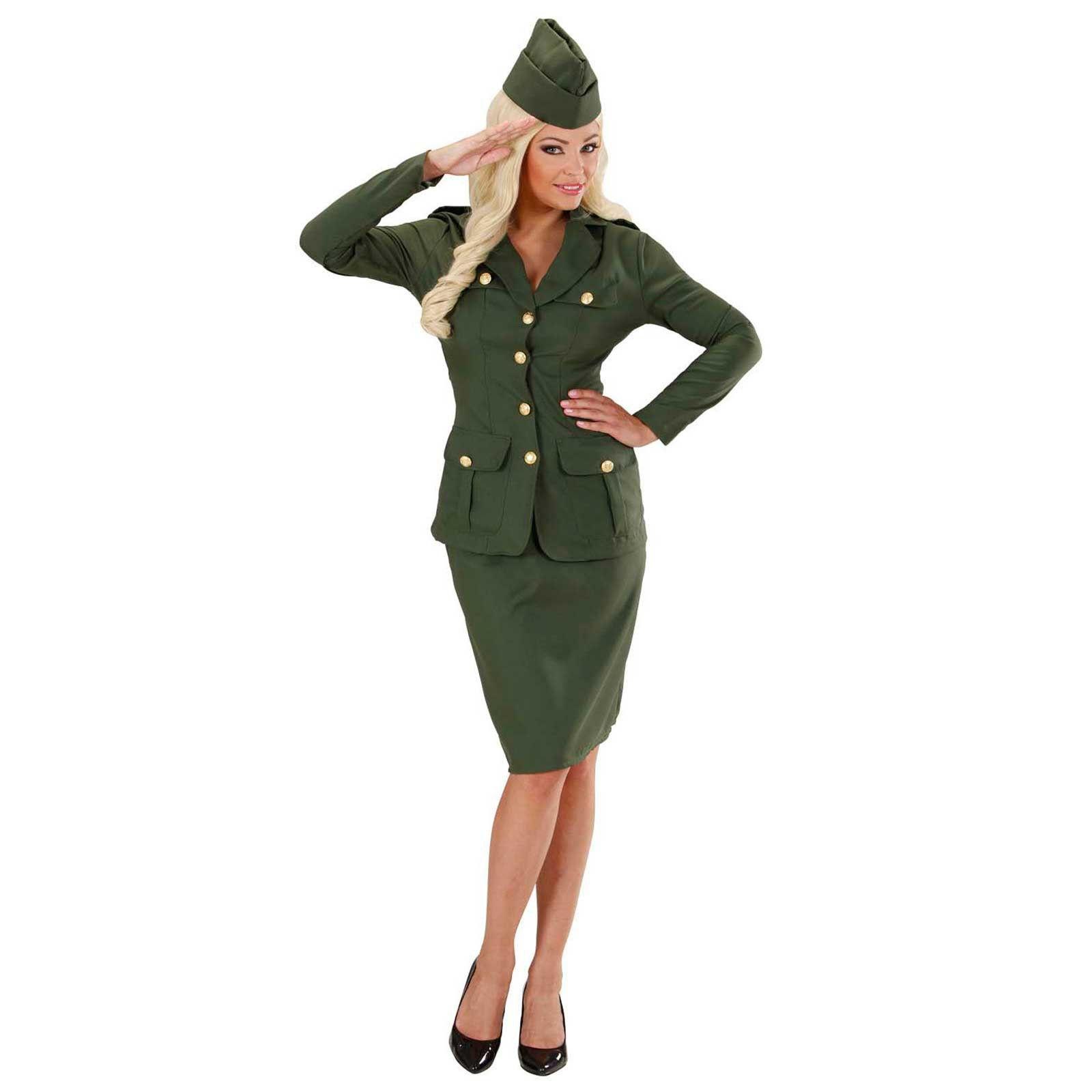 Disfraz de Chica Soldado Segunda Guerra Mundial Adulto 6ab21c1b7b9