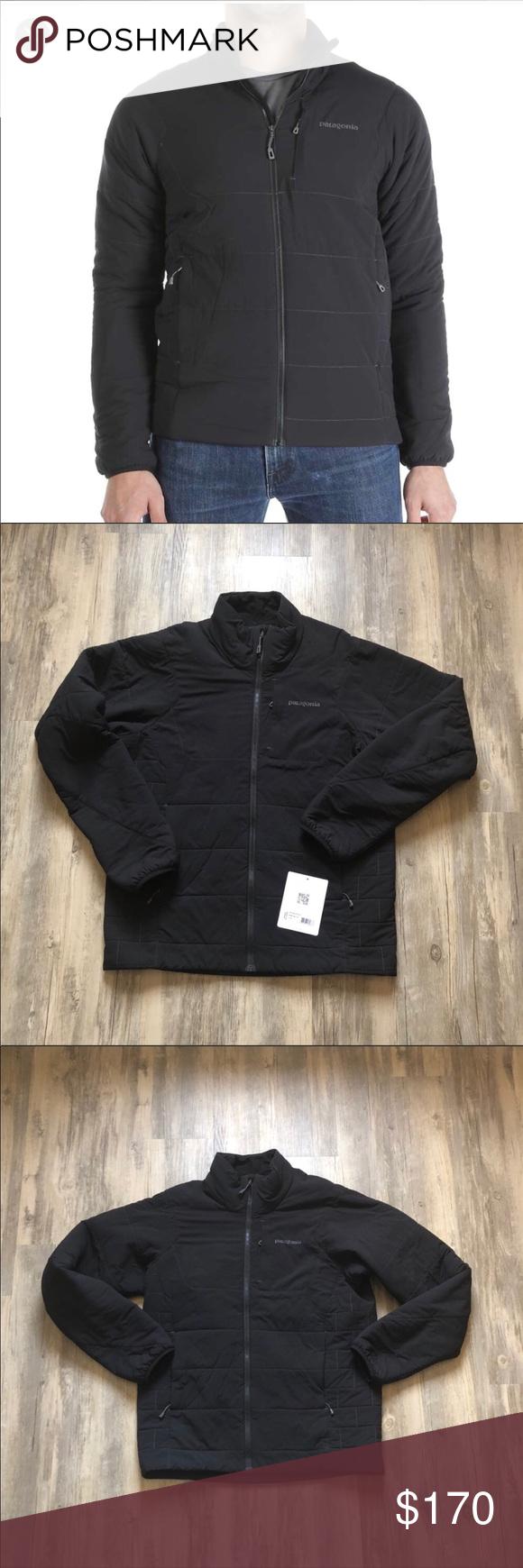 Patagonia Men's NanoAir Jacket Black Size Medium