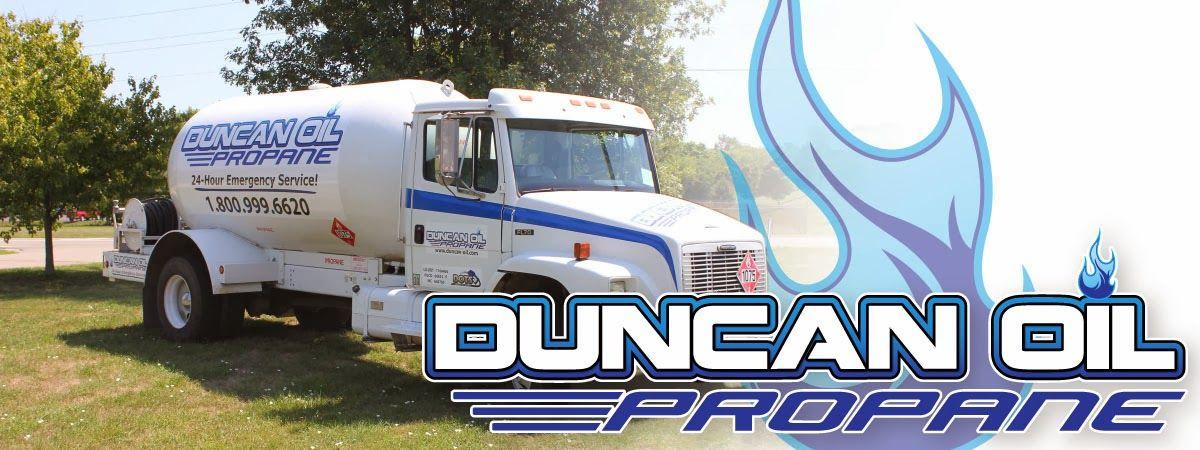 Duncan Propane Propane Oils Trucks