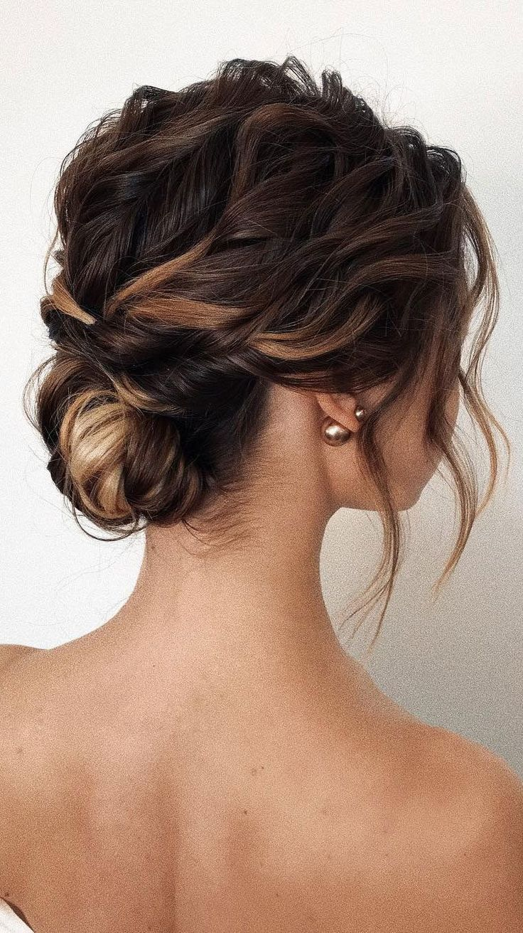 romantic updo hairstyles, updo hairstyle,simple updo, messy bridal updo hairstyl... #Bridal #hairstyl #hairstyles #hairstylesimple #messy #Romantic #Updo #simpleupdo