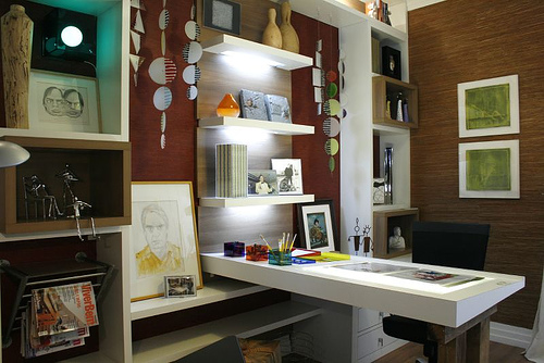 What Gives A Home Office Good Feng Shui Open Spaces Feng Shui