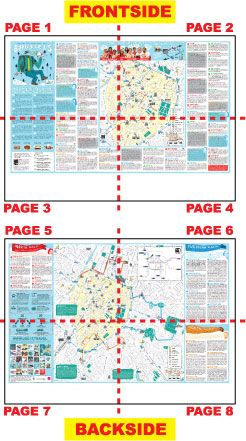 MAP Brussels USEIT TOURIST INFO FOR YOUNG PEOPLE