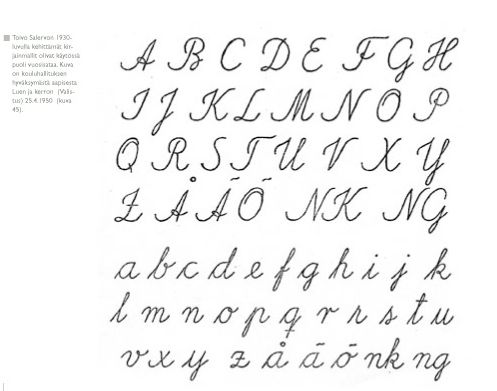 posh writing alphabet printables