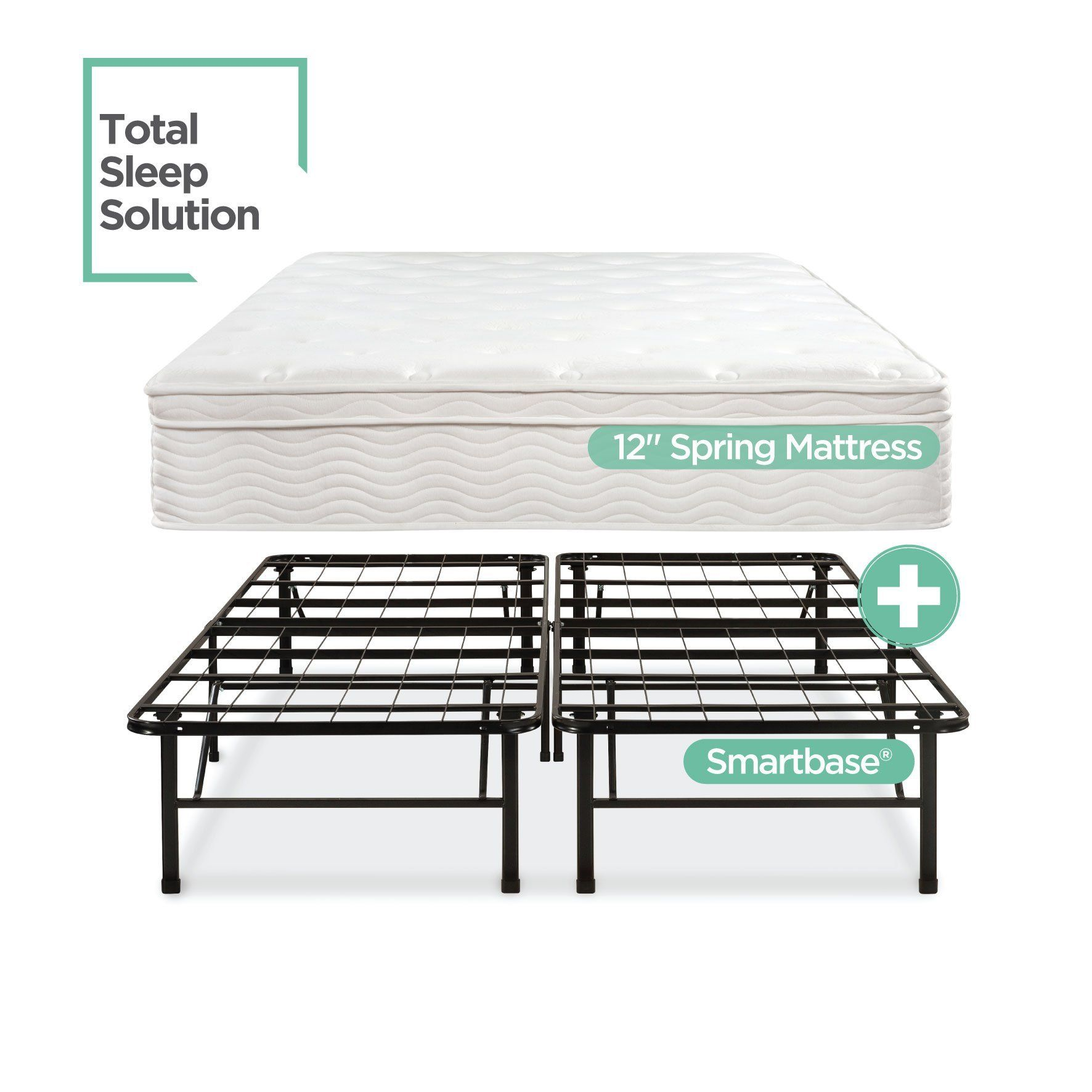 Night Therapy Spring 12 Inch Euro Box Top Mattress and