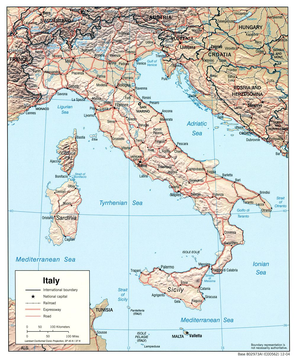 Italy Maps Perry Castaneda Map Collection Ut Library Online
