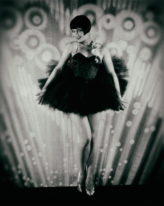 Louise Brooks photo print silent movie star Ziegfeld Follies flapper