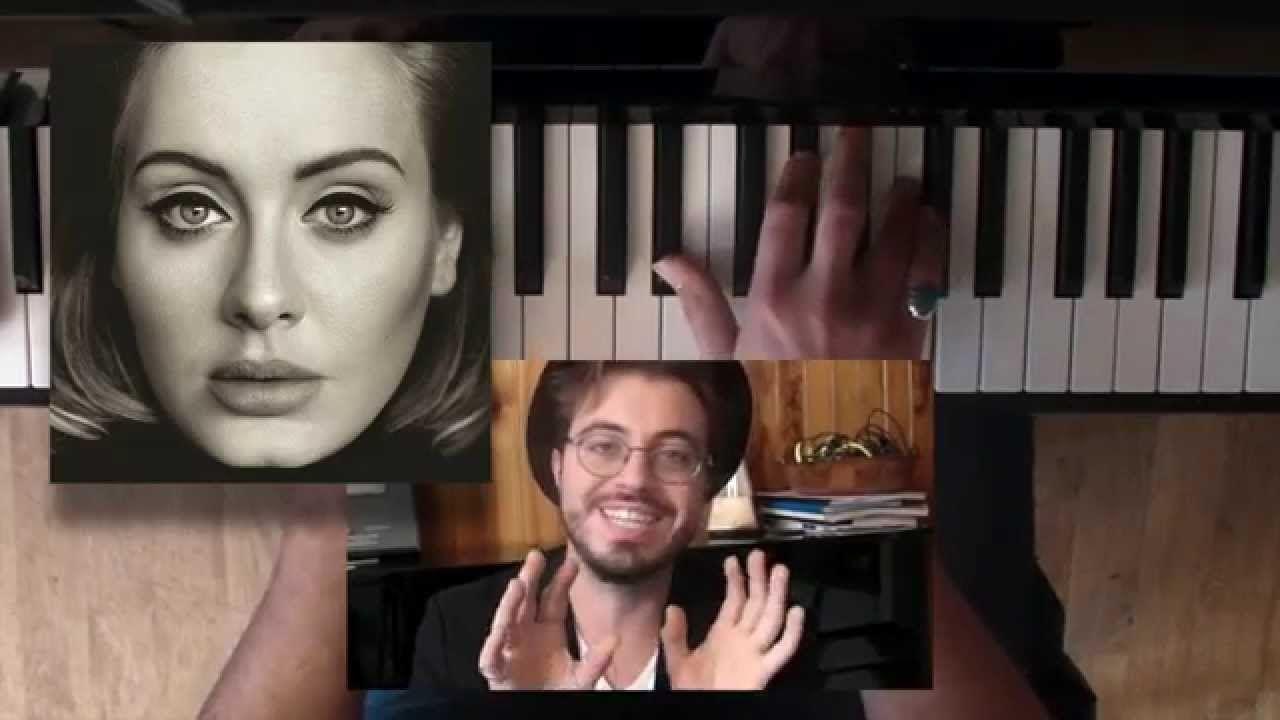 Hello Adele Piano Guitare Tutoriel New Concept Tabs Guitar Lessons Tutorials Piano Lessons Piano