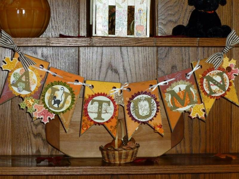 Autumn Banner by greekheroine - Cards and Paper Crafts at Splitcoaststampers