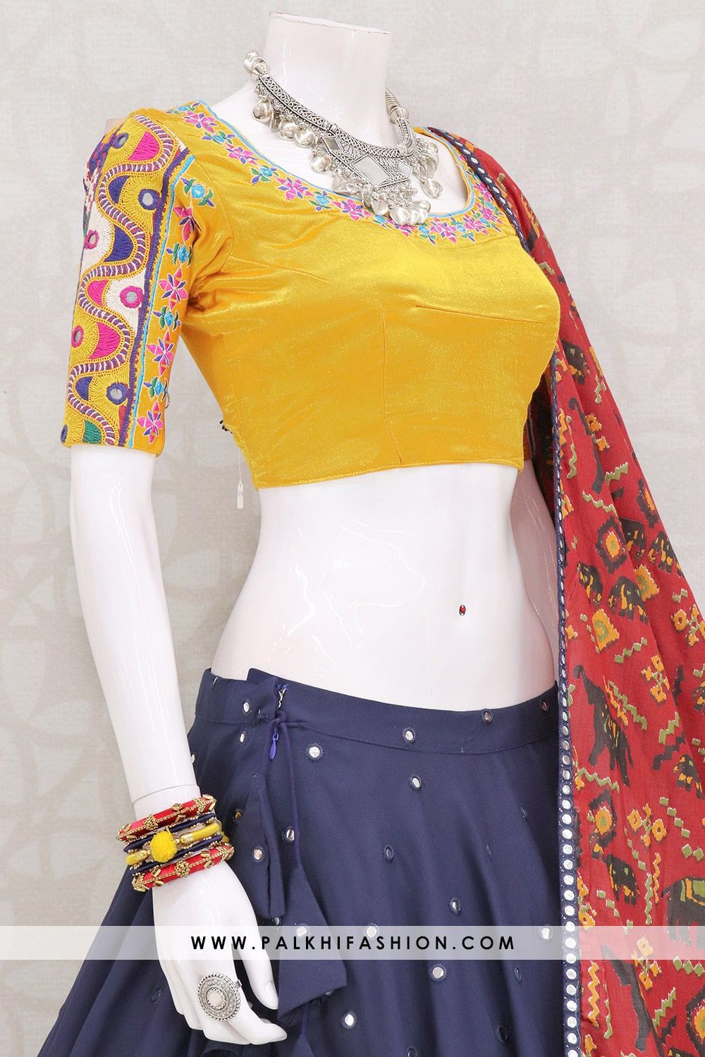 13 Meter Flair Designer Navratri Chaniya Choli From Palkhi Fashion #chaniyacholi