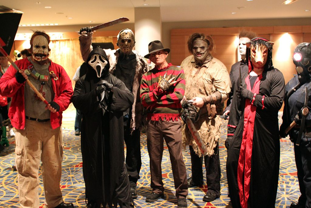 Halloween Group Costumes Scary.Costumes Halloween Costume Ideas Horror Costume Group