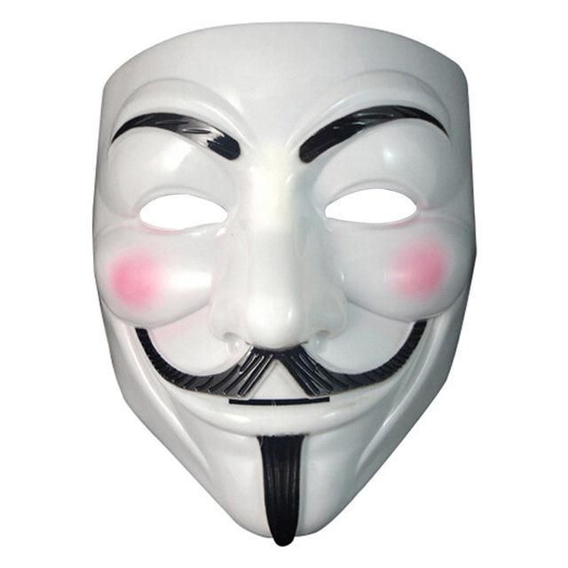 Halloween Masquerade Face Mask V For Vendetta Guy Fawkes Fancy Dress Party New