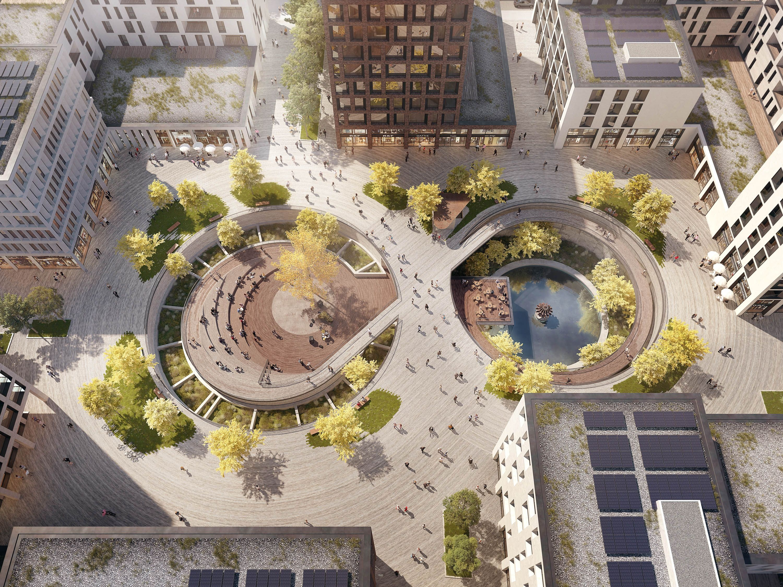 1. Preis Gestaltung Sinterbeckenplatz in Esch-sur-Al...competitionline