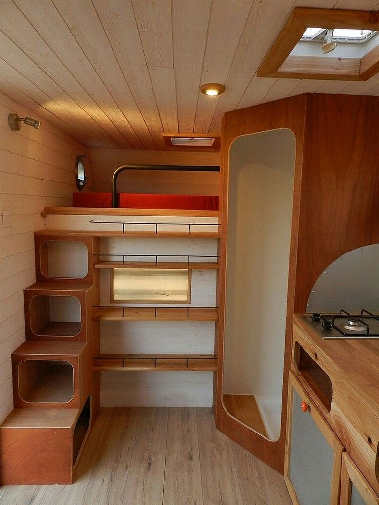 15+ Incridible and Easy Tips RV and Camper Van Storage Ideas #rv