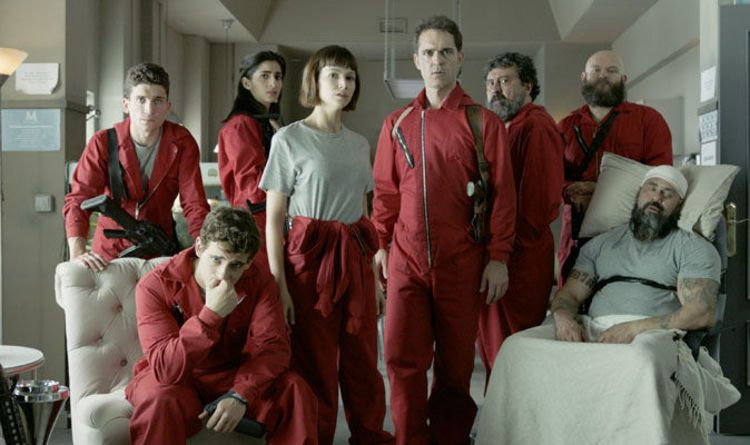 La Casa De Papel Season 2 Cast Who Stars In Money Heist Actor