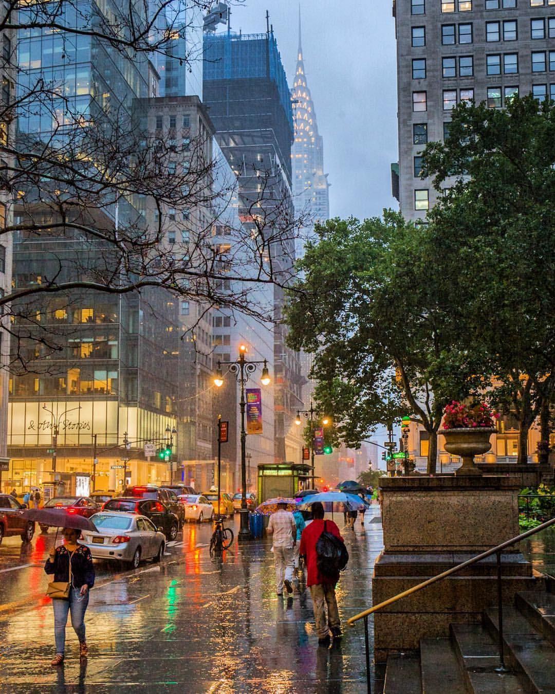 Newyork Newyorkcity Nyc Rain Rainphotography