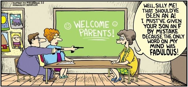 The Anti Helicopter Parents Plea Let >> Helicopter Parent Jokes Teacher Well Silly Me That Should Ve