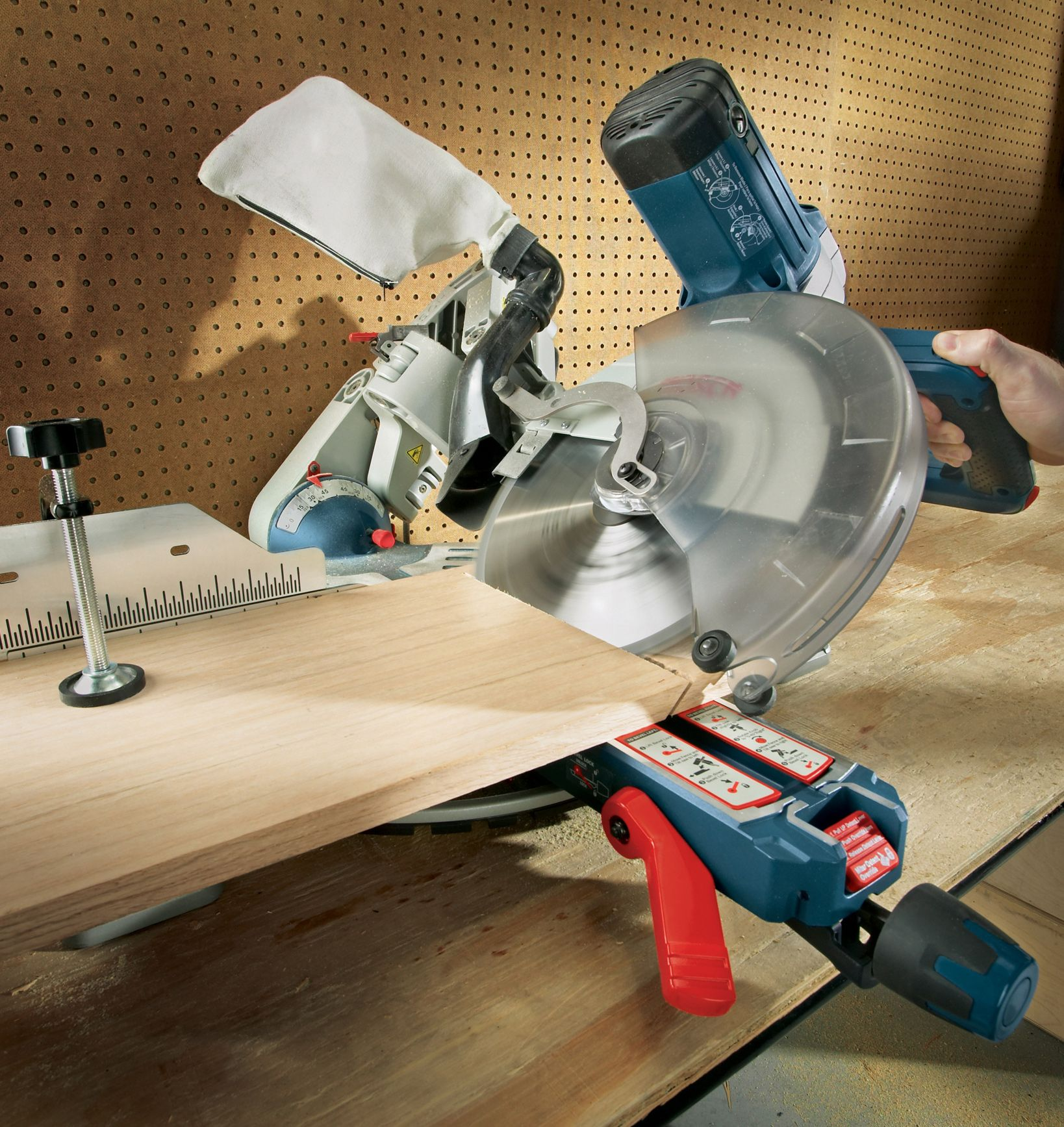 Featuring An Axial Glide System Consistent Precision Over The Tool Life And Compact Workspace That Saves Up To 12 This Saw Is Miter Saw Miter Saws Mitered