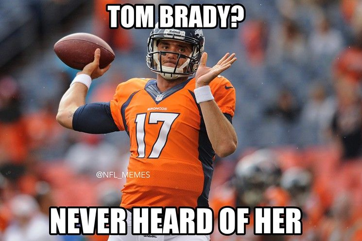 Nfl Memes Best Insults To Tom Brady Patriots After Loss To Broncos Funny Football Memes Nfl Funny Nfl Memes Funny