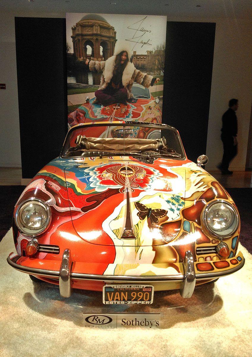 Janis Joplin Porsche Sale Classic Car Auction Hagerty Articles