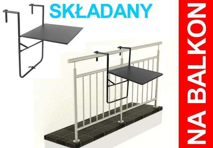 Stolik Na Balkon Barierke Balustrade Skladany Hit 4478347656 Oficjalne Archiwum Allegro Home Decor Home Decor