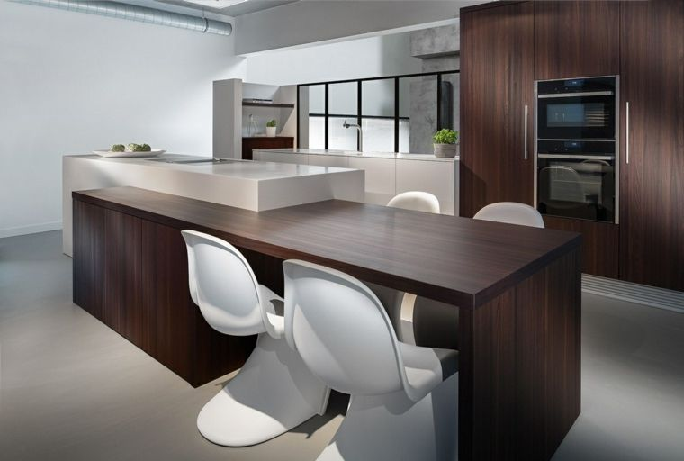 Cocinas con isla 50 ideas de muebles blancos o de madera. | Island ...