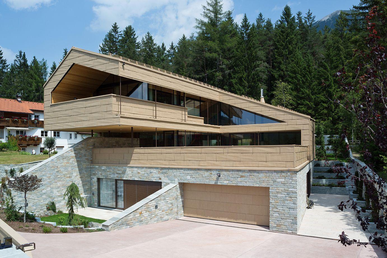 prefa referenzobjekte on pinterest metal facade villas and patinas. Black Bedroom Furniture Sets. Home Design Ideas