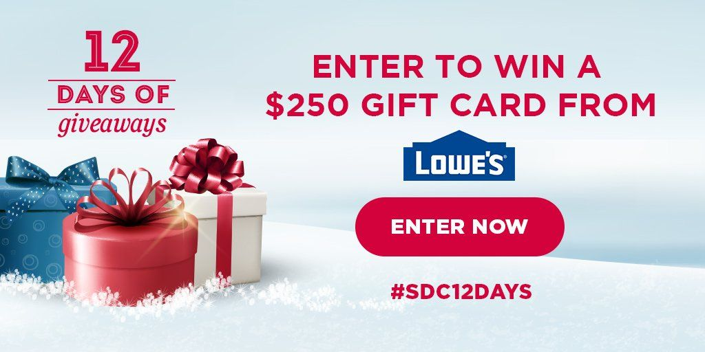 Freebies 4 mom expired 250 lowes 1day giveaway