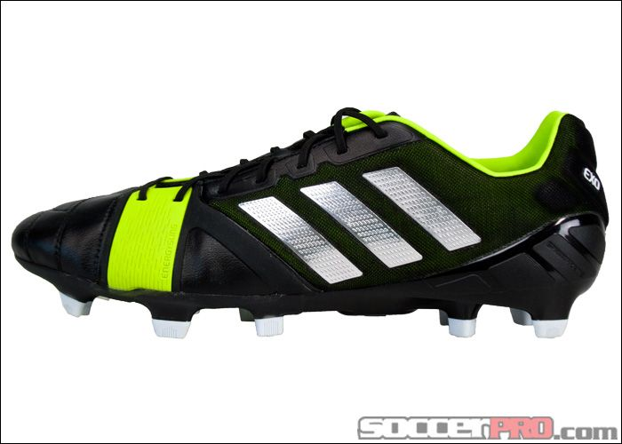 adidas Nitrocharge 1.0 TRX FG Soccer Cleats Black with