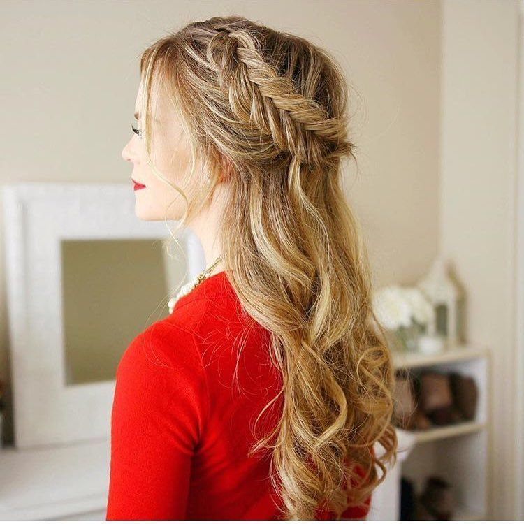 Diy Wedding Hair Half Up: Cool 60 Dazzling Ideas For Half Up Half Down Prom