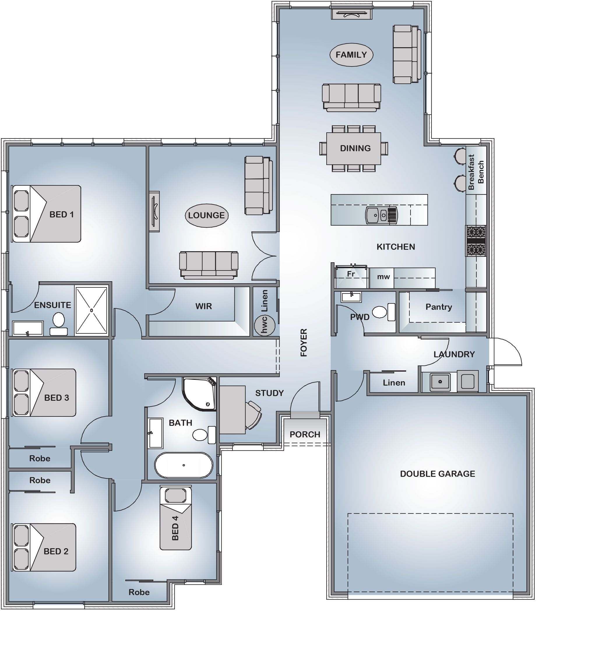 Superior Stonewood Homes Floor Plans Part - 4: Medbury - Your Style Range | Stonewood. Home Floor PlansHouse ...