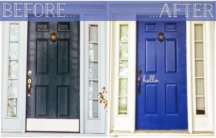 Tutorial How To Remove A Brass Kick Plate And Make Your Front Door