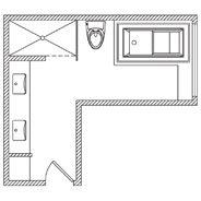 KOHLER | Floor Plan Options | Bathroom Ideas & Planning | Bathroom on closet bathroom, tent bathroom, bamboo floor bathroom, small bathroom, galley bathroom, kitchen bathroom, executive bathroom, storage bathroom, office bathroom, lean to bathroom, clear bathroom, sunken bathroom, square bathroom, laminate flooring bathroom, dressing room bathroom, metal bathroom, suite bathroom, remodeled bathroom, wood floors bathroom, large bathroom,