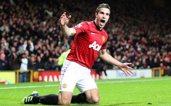 Robin Van Persie Man Utd Man Utd Vs West Ham Epl 2012 2013 De Gea