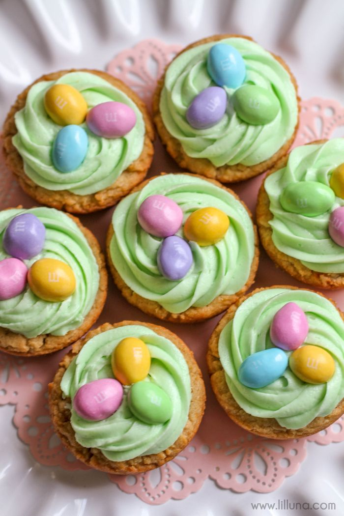Photo of Easter Basket Cookie Cups Recipe (+VIDEO) | Lil' Luna
