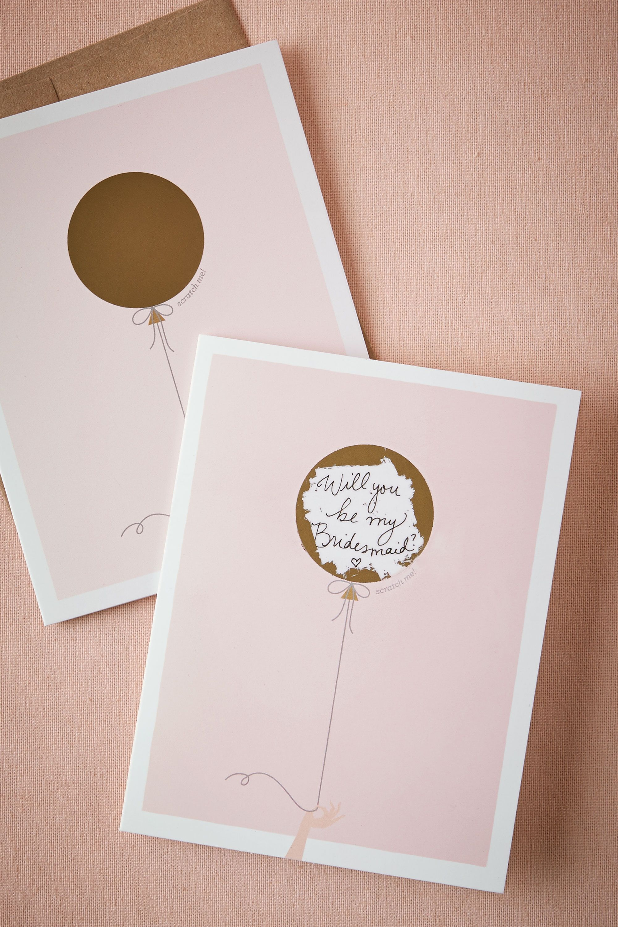 """""""Will You Be My"""" Scratch-Off from @BHLDN"""