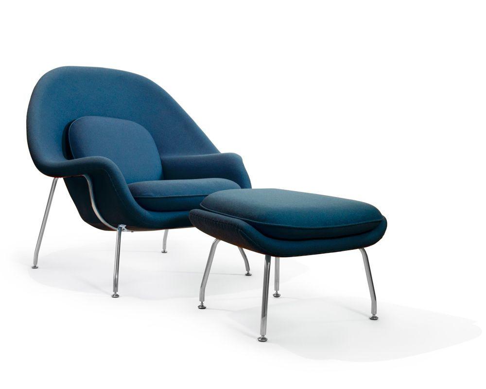 Womb Chair And Ottoman Womb Chair Saarinen Chair And Ottomans # Muebles Eero Saarinen