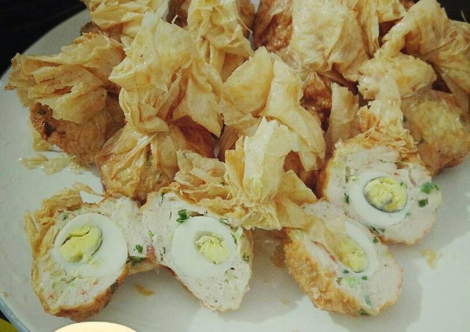 Gorengan Sederhana Seperti Ekado Yang Dapat Anda Buat Sendiri Di Rumah Dengan Resep Dan Cara Yang Sederhana Resep Resep Masakan Resep Makanan Cina