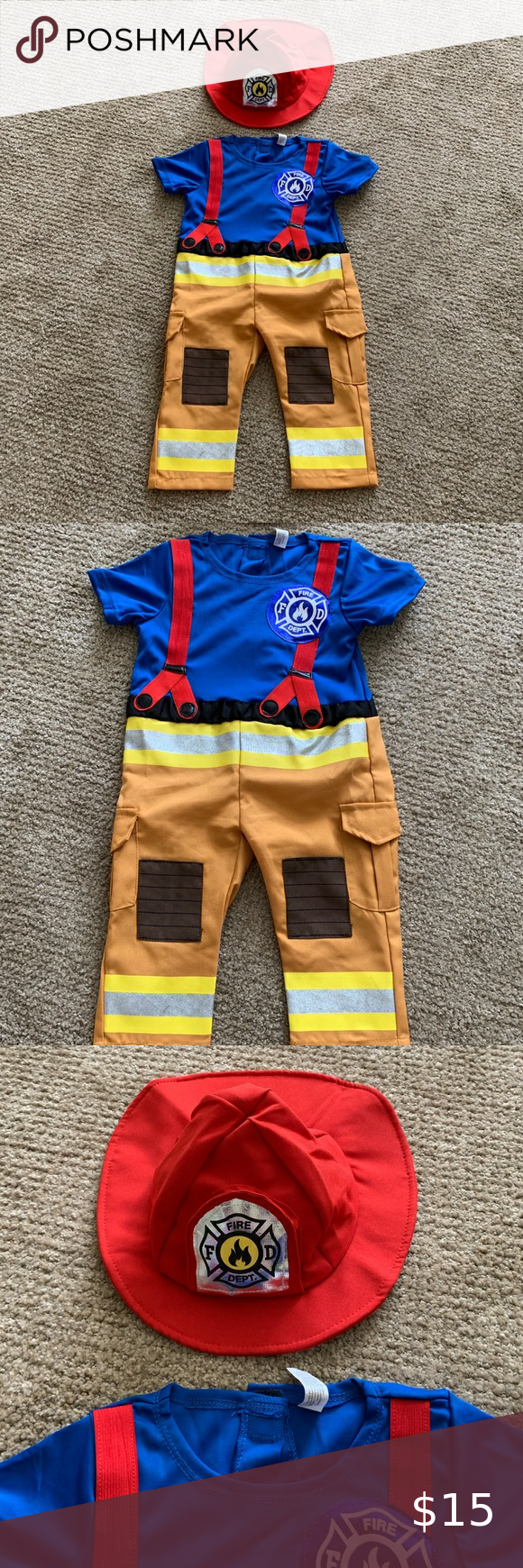 Firefighter Halloween Costume in 2020 Firefighter