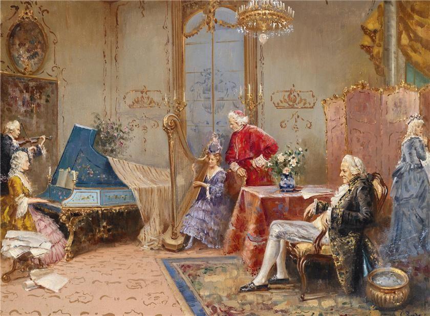 Giovanni Panza (18941989) — (840×617) in 2019 Rococo