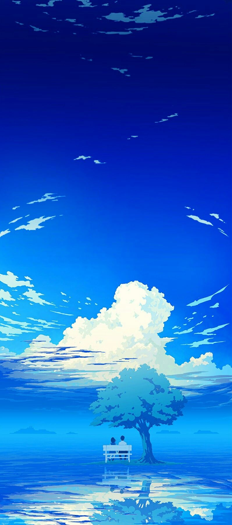 Vocaloid iphone wallpaper tumblr - Tumblr Blue Sky