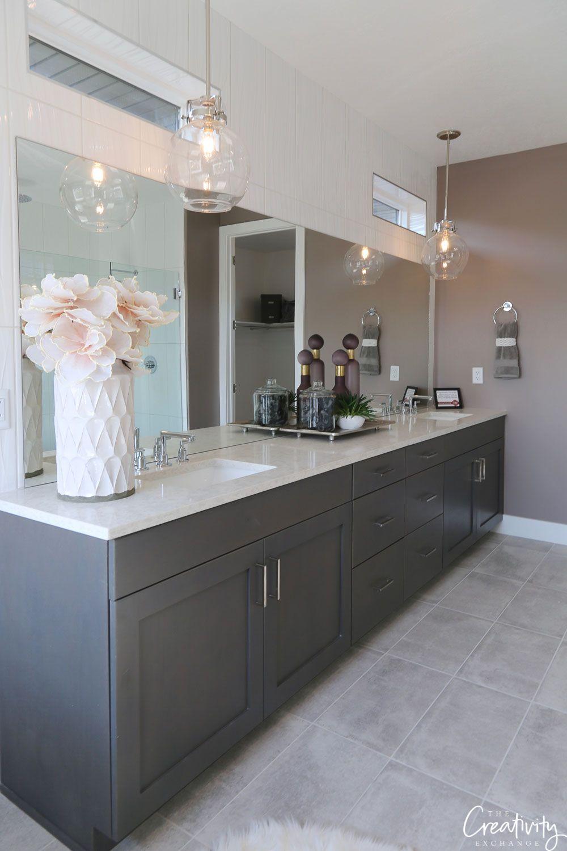 2018 Salt Lake City Parade Of Homes Recap Part 2 Blue Bathroom